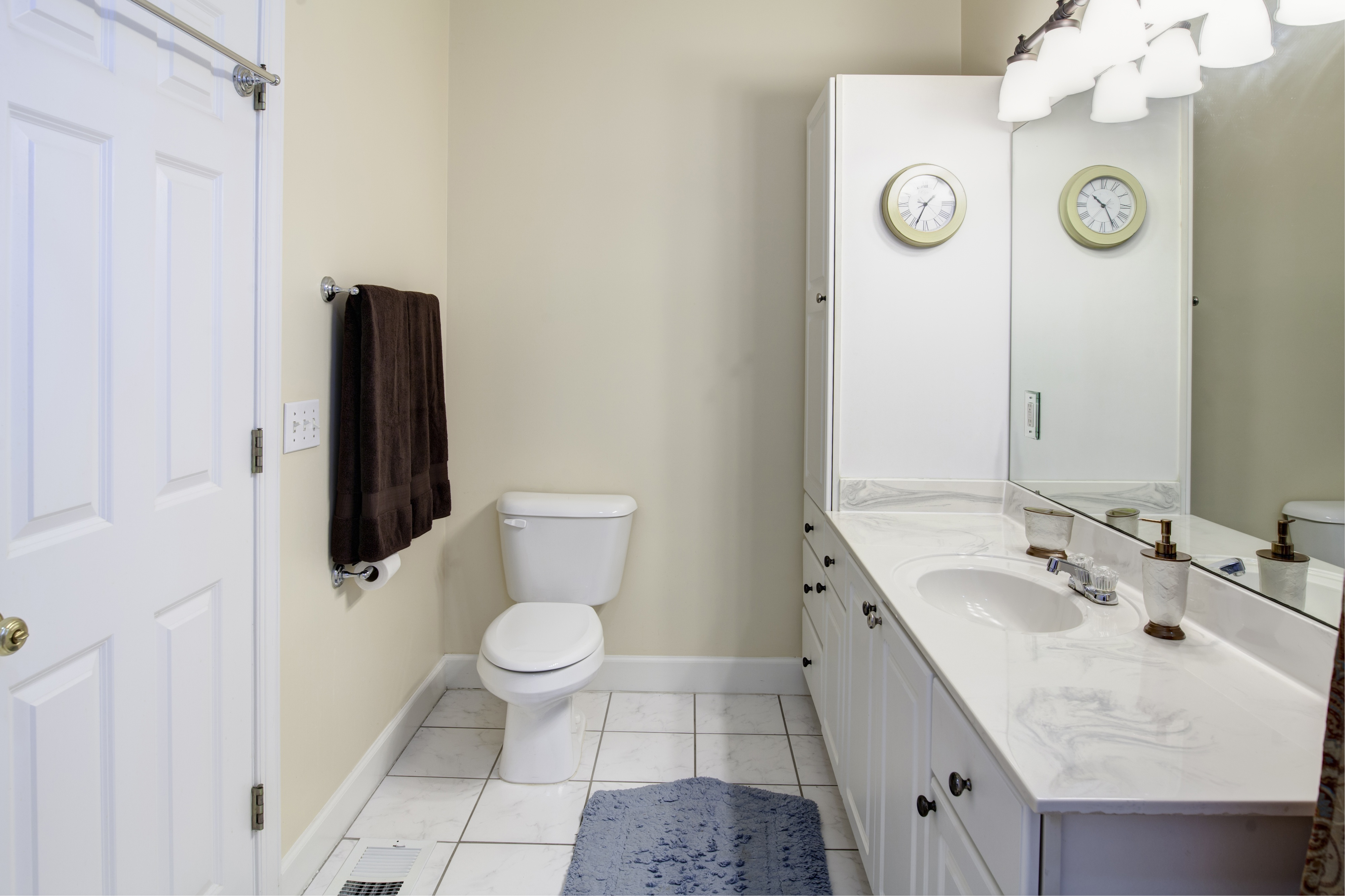 What to do with your half-bath